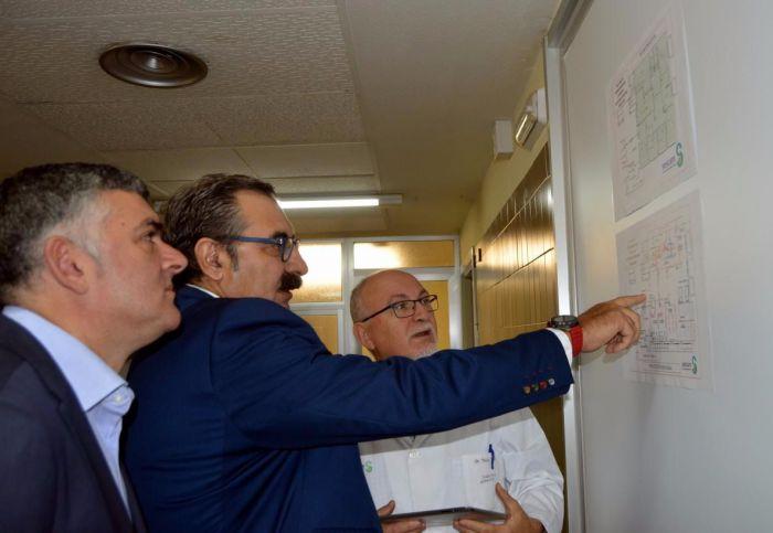 La nueva sala de hemodinámica del Virgen de la Luz estará operativa entre abril y mayo de 2018