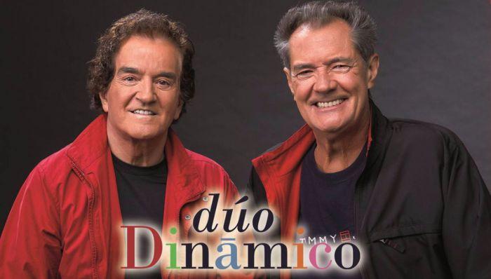 El Dúo Dinámico trae sus canciones inolvidables al recinto del Serranía