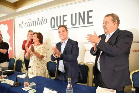 García-Page propone que el nuevo secretario general opte a la Presidencia de la región