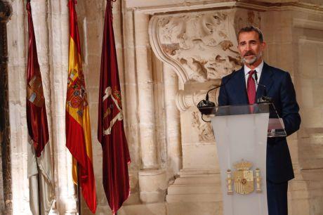 El Rey: 'La Constitución prevalecerá frente a quienes quiebran la convivencia'