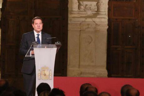 """García-Page: """"La cultura que se esconde detrás de cada esquina del pueblo español no puede ser utilizada como elemento excluyente"""""""