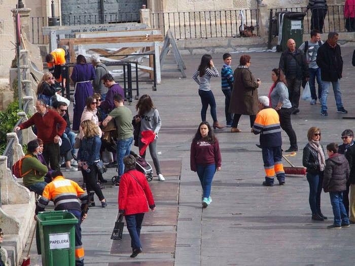 Se incrementará el dispositivo de limpieza durante los días de celebración de San Mateo 2017