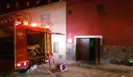 Se incendia el local de una peña en Fuente de Pedro Naharro