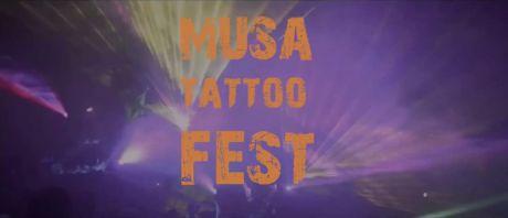 Comienzan los preparativos para el Musa Tattoo Fest en el 'Chiringuito de la playa'