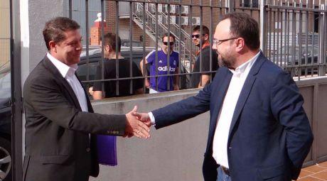 García-Page se muestra 'satisfecho' y 'muy contento' con el desarrollo del debate