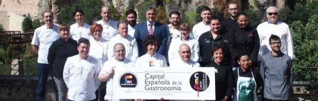 Cuenca y León, finalistas al título de Capital Española de la Gastronomía 2018