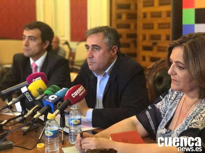 Mariscal pide a García-Page que ponga todos los recursos necesarios a disposición de la empresa que construye el nuevo Hospital de Cuenca