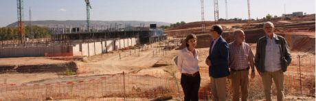 Las obras del nuevo Hospital Universitario avanzan según el cronograma previsto por la Junta