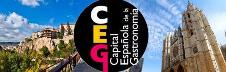 Cuenca y León se juegan hoy la Capitalidad Gastronómica de 2018