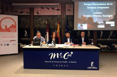 Se prepara una campaña de promoción del Parque Astronómico de la Serranía de Cuenca