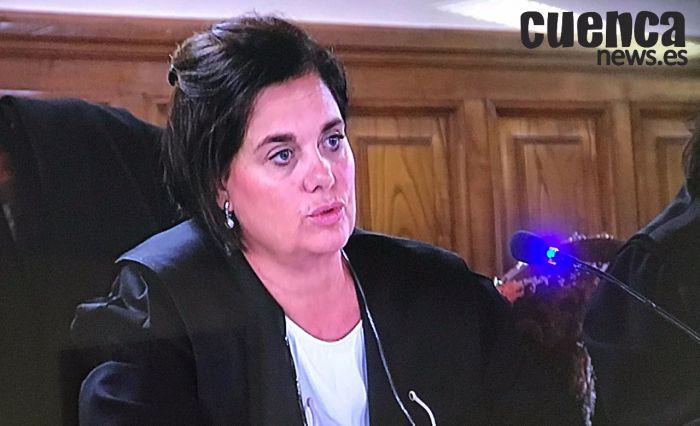 En imagen la fiscal Cristina Moruno