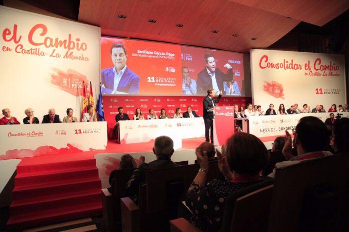 García-Page presenta una Ejecutiva con 51 miembros, paritaria y renovada