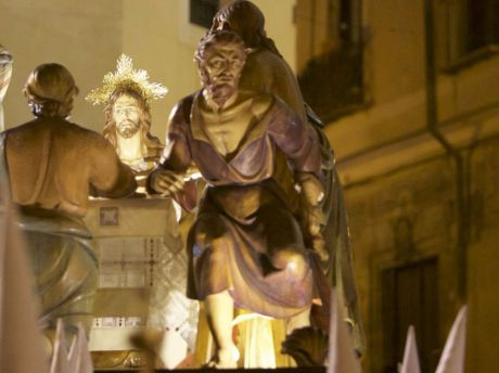 Este sábado se presentan los trabajos de digitalización de la imagen del Judas de la Santa Cena