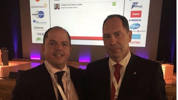 Dos alergólogos del SESCAM moderan las sesiones plenarias del Simposio de Aerobiología, Contaminación y Cambio Climático
