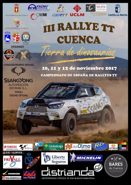 El III Rallye TT 'Cuenca Tierra de Dinosaurios' decidirá el campeón de España