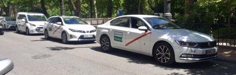Los taxistas de Cuenca se suman a la huelga nacional