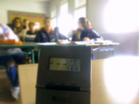 La Dirección Provincial de Educación asegura que ya se está solucionando el problema de calefacción del IES Santiago Grisolía