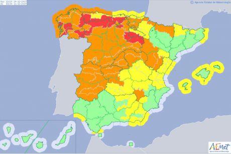 Activado el METEOCAM en fase de alerta en toda la región ante la previsión de fuertes vientos