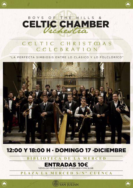 El Seminario Conciliar de San Julián acoge el concierto de Celtic Chamber Orchestra