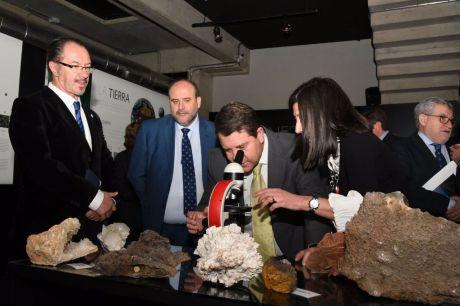 El Museo de las Ciencias estrena el nuevo espacio de 'Los Tesoros de la Tierra'