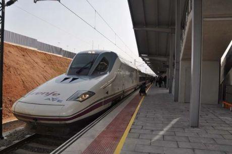 Más de 1,8 millones de clientes han viajado en los trenes de Alta Velocidad con origen y destino Cuenca durante los siete primeros años de funcionamiento