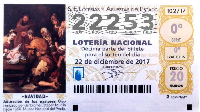 El número 22.253, último de los quintos, llega a Albacete, Ciudad Real y Cuenca
