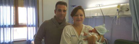 Aarón, primer niño del año 2018 nacido Castilla-La Mancha