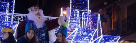 Los Reyes Magos reparten ilusión en Cuenca