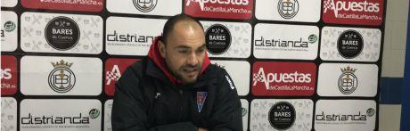 Sala de Prensa | Jesús Castellanos - [U.B. Conquense 1- 0 La Roda C.F.]