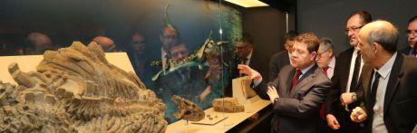 El Museo Paleontológico se convierte, tras su remodelación, en espacio museístico de referencia a escala nacional y europea