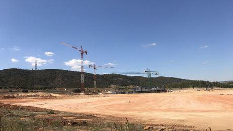 Más de cien personas trabajan ya en las obras del nuevo Hospital Universitario de Cuenca