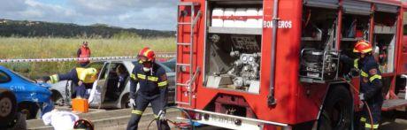 Varias personas heridas en un accidente de tráfico en Valera de Abajo