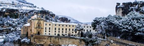 FOTOS | La nieve tiñe de blanco la ciudad de Cuenca