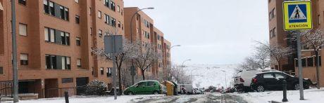 Normalidad en la capital tras el temporal de nieve