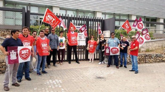Los trabajadores de Amaranto Eurogroup SL irán a la huelga indefinida el 19 de febrero por el impago de nóminas y el deterioro de condiciones laborales