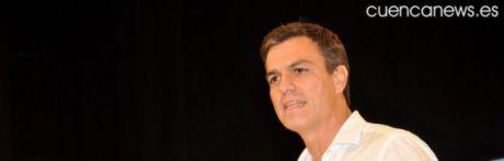 Pedro Sánchez muestra su oposición al ATC en Villar de Cañas