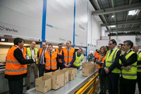 Werfen inaugura en Tarancón su nuevo centro logístico para España y Portugal