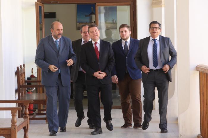 """García-Page apuesta por una segunda legislatura que sitúe a la región en una dinámica de """"aprovechamiento por encima de la media"""""""