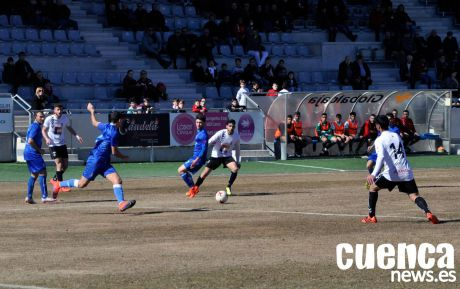 Triunfo solvente del Conquense ante el Madridejos (3-0)