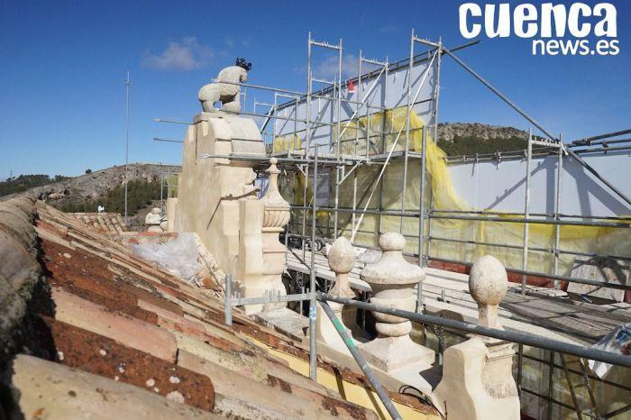 VIDEO | Así esta siendo la restauración de la fachada principal del Ayuntamiento