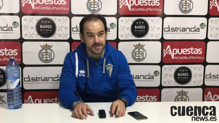 Sala de Prensa | Sergio Inclán - [U.B. Conquense 2- 0 C.D. Manchego Ciudad Real ]