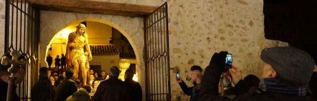 El Ecce Homo de San Miguel ya espera el pregón de Pilar Ruipérez