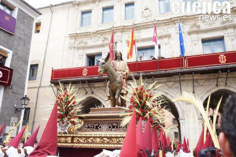 Cuenca celebra con pasión el Domingo de Ramos