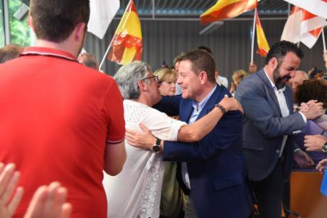 """García-Page avanza una bajada """"histórica"""" de las listas de espera en Castilla-La Mancha"""