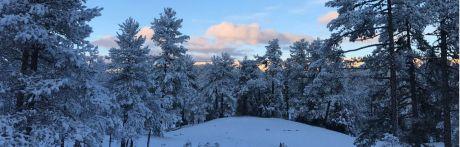 La nieve pone en alerta a la provincia