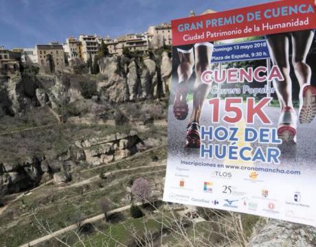 Las inscripciones para la carrera '15K Hoz del Huécar' finalizan hoy con poco más de 500 personas registradas