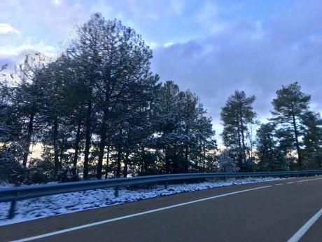 Ocho rutas escolares se han cancelado por la nieve