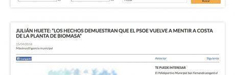 Denuncian por tercera vez el uso partidista de la web del Ayuntamiento de Cuenca