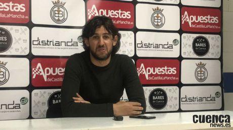 Sala de Prensa | Javi Sánchez - [U.B. Conquense 3 - 2 Mora C.F.]