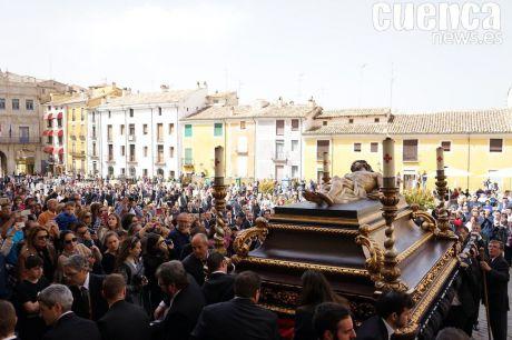 VIDEO | Procesión del 75º Aniversario de la llegada de Cristo Yacente